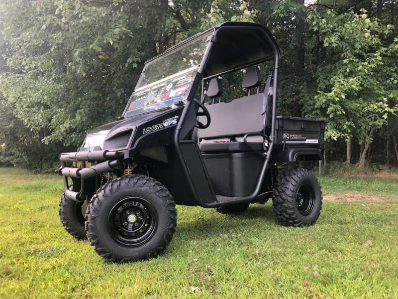 $1000 OFF NEW American Landmaster 677 Power Steering 4WD UTV USA BLACK