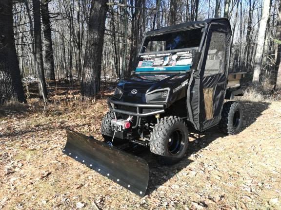 $2000 OFF American LandMaster 550 PLOW-PWR STEER-DOORS-ENDS 2-28 BLACK