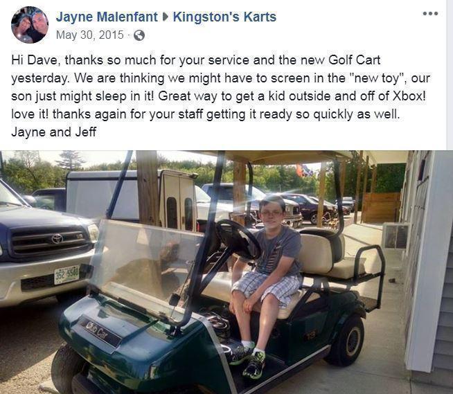 Winter Special! 2016 Club Car Precedent 4 Pass Elect Golf Cart 2016 BATTERY BLUE