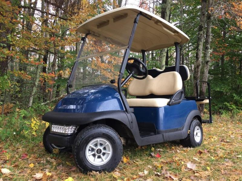 Winter Special! 2016 Club Car Precedent 4 Pass Elect Golf Cart 2016 BATTERY BLUE