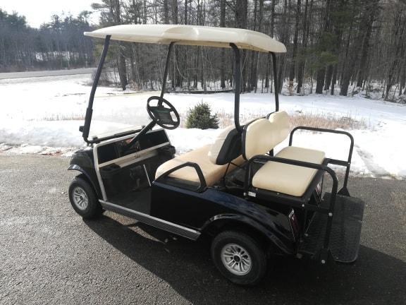 GAS POWERED Club Car Customized Spartan 4 passenger golf car BLACK