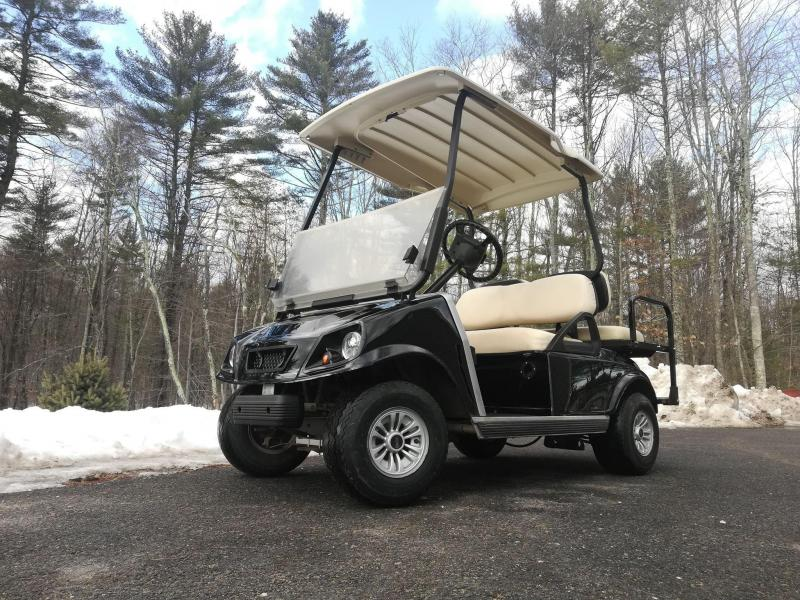 GAS POWERED Club Car Customized Spartan 4 passenger golf car BLACK