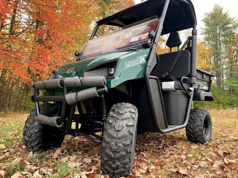American Land Master 350DL GAS 2WD UTV w/Locking Diff-Green