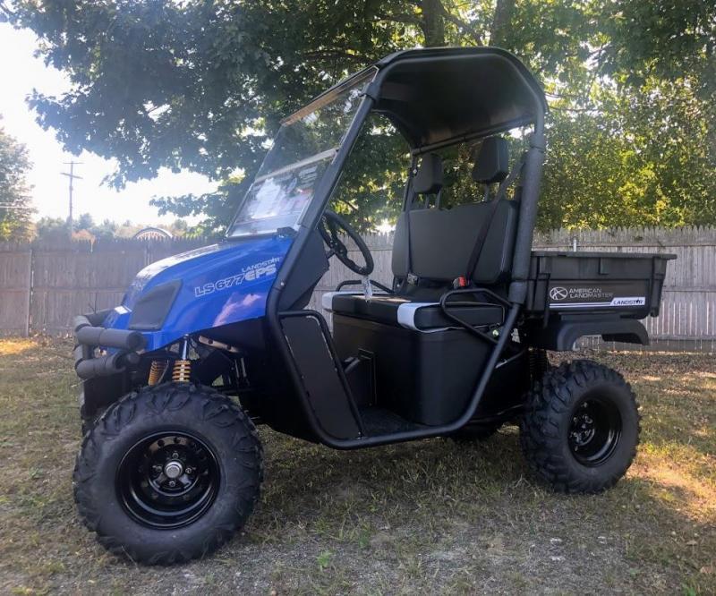 $1000 OFF NEW American Landmaster 677 Power Steering 4WD UTV USA BLUE