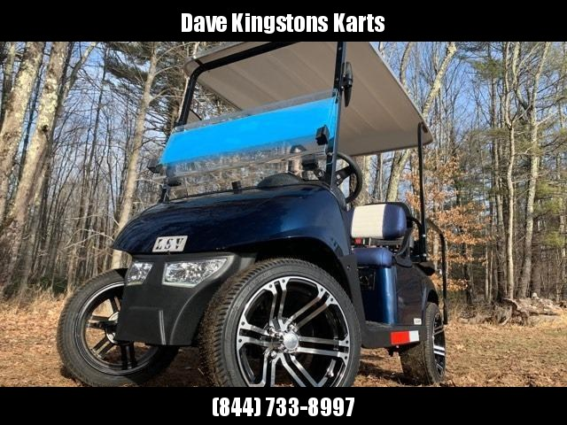 2020 Mid-South LSV 25MPH Street Legal 4 pass golf cart-Navy Blue USA!!