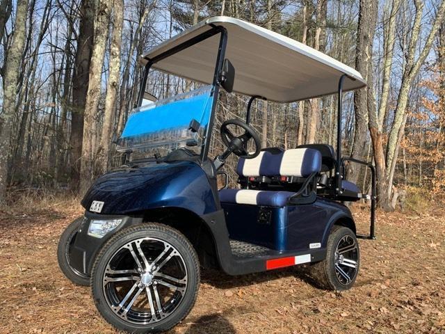 2020 Mid-South LSV 25MPH Street Legal 4 pass golf cart-Navy Blue USA!!
