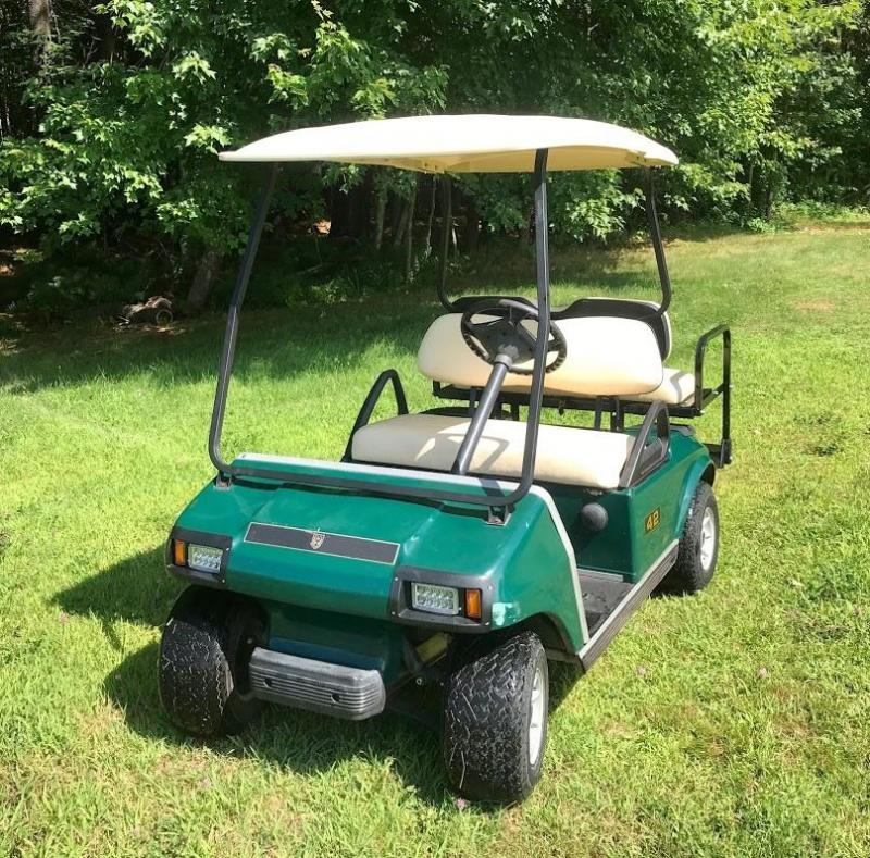 2007 Club Car DS GAS 4 Passenger Golf Car w/FOLD DOWN SEAT/LED LIGHTS