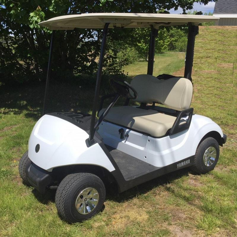 LIKE NEW 2019 YAMAHA DRIVE 2 EFI FUEL INJECTED GOLF CART VERY QUIET!!!