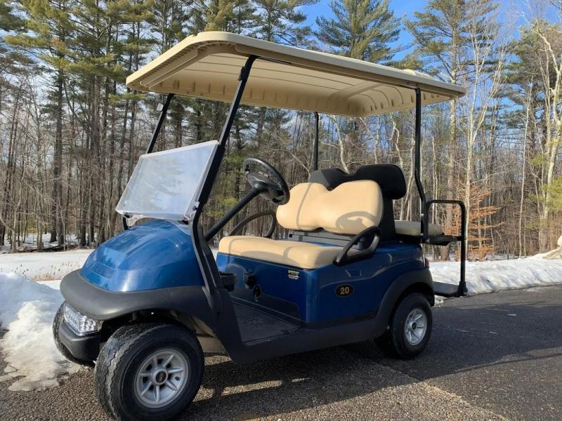 Winter Special! Club Car Precedent 4 Pass Elect Golf Cart NEW BATTERY