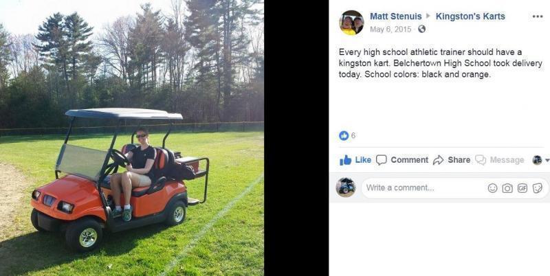 Winter Special! Club Car Precedent 4 Pass Elect Golf Cart NEW BATTERY