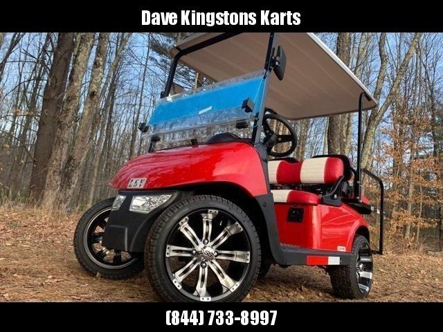 2020 Mid-South LSV 25MPH Street Legal 4 pass golf cart-Fire Red USA!!!