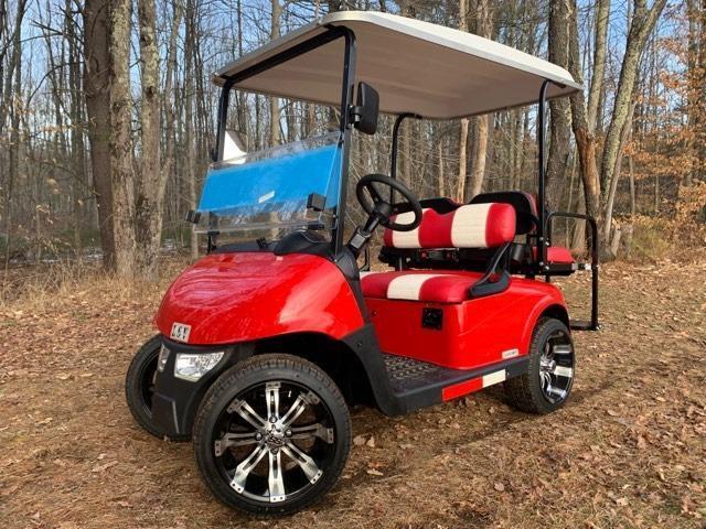 2020 Mid South Lsv 25mph Street Legal 4 Pass Golf Cart