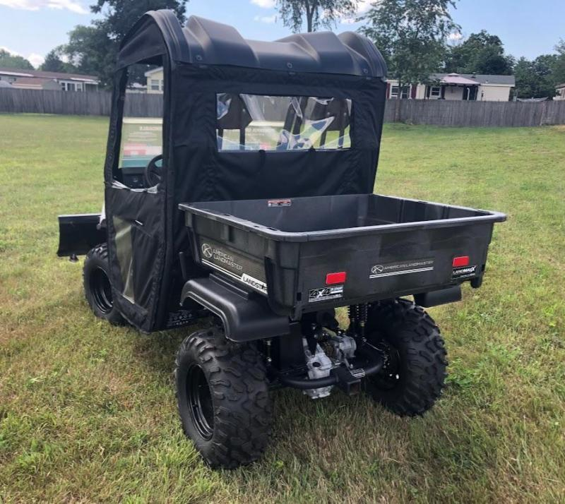 $2000 OFF American LandMaster 550 PLOW-PWR STEER-ENCLOSURE-ENDS OCT 31 WHITE