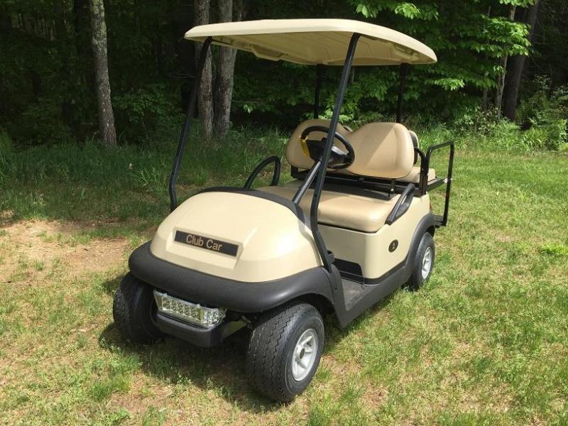 WINTER SPECIAL! Club Car Precedent 4 Pass Elect Golf Cart 2016 Battery