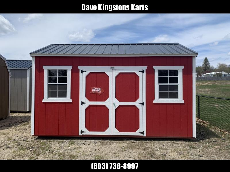 Brand NEW Old Hickory Utility Shed 10' x 16'  Red w/black steel roof