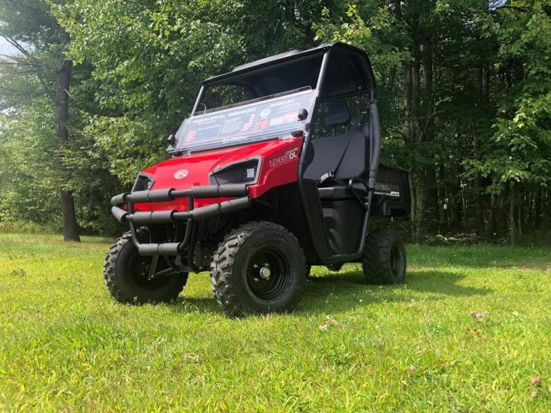 American Land Master 350 GAS UTV with LIMITED SLIP DIFFERENTIAL RED