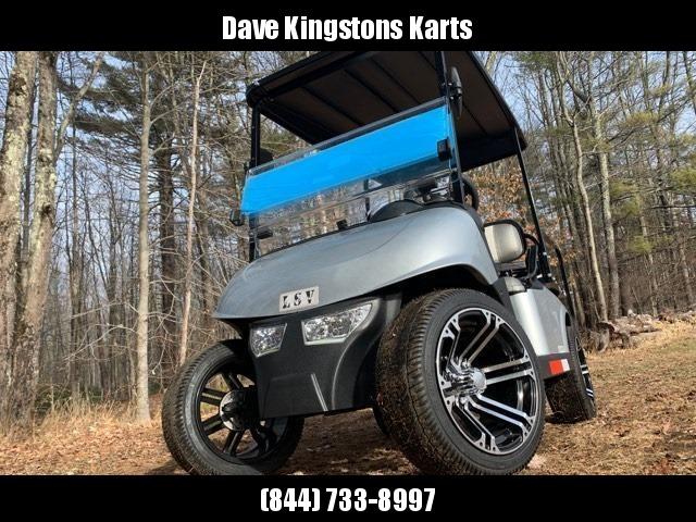 2020 Mid-South LSV 25MPH Street Legal 4 pass golf cart-Platinum Silver