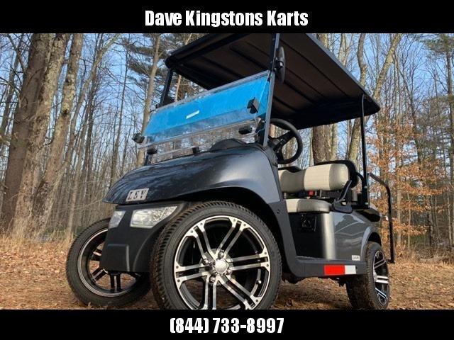 2020 Mid-South LSV 25MPH Street Legal 4 pass golf cart-Charcoal Metallic