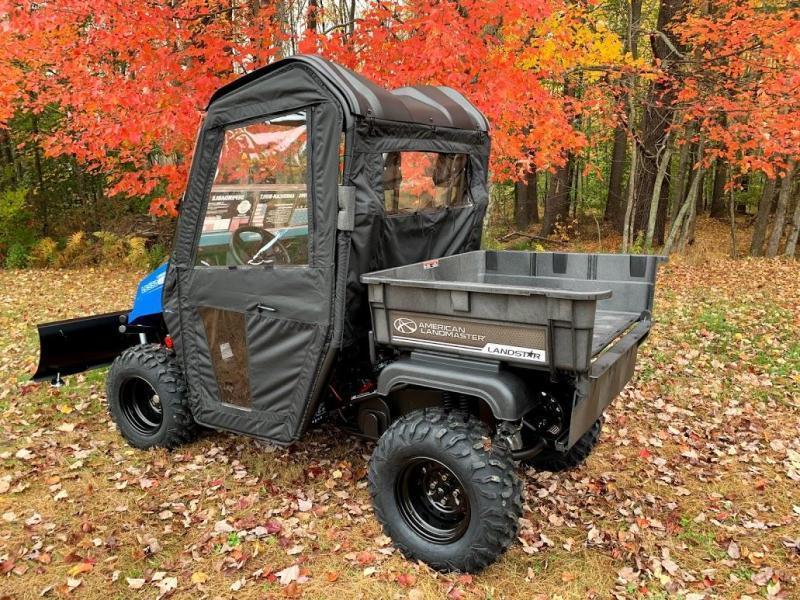 $2000 OFF American LandMaster 550 PLOW-PWR STEER-ENCLOSURE-ENDS NOV 30 BLUE