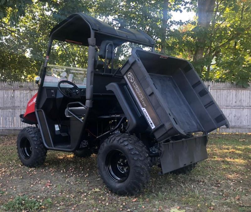 $1000 OFF NEW American Landmaster 677 Power Steering 4WD UTV USA RED