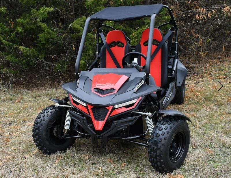 NEW RED Trailmaster Cheetah 150 Go Kart Teen-Adult 38 MPH SPORT UTV STYLE