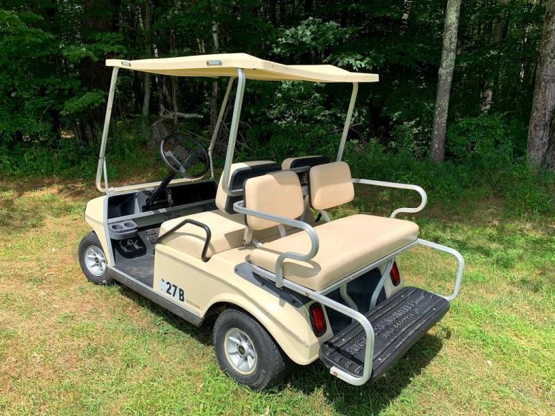 Club Car DS Electric 4 Pass Golf Cart 48 volt