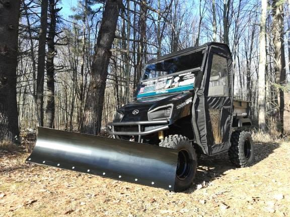 $2000 OFF American LandMaster 550 PLOW-PWR STEER-ENCLOSURE-ENDS NOV 30 BLACK