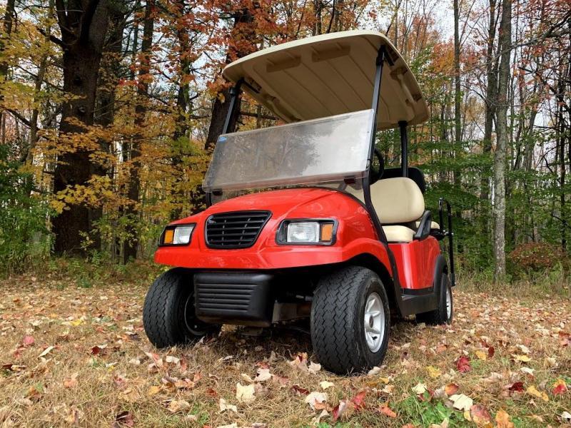 SUPER PRICE! Custom Club Car Precedent RED Phantom 48V electric 4 pass