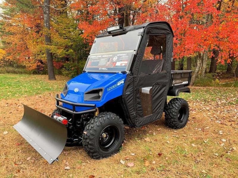 $2000 OFF American LandMaster 550 PLOW-PWR STEER-DOORS-ENDS 2-28 BLUE