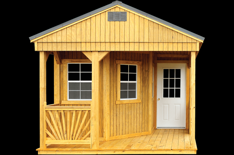 Brand New Old Hickory Deluxe Playhouse Utility Shed 12' x 24'