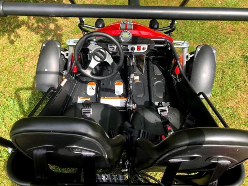 Hammerhead Offroad GTS150 Teen/Adult Go Kart RED
