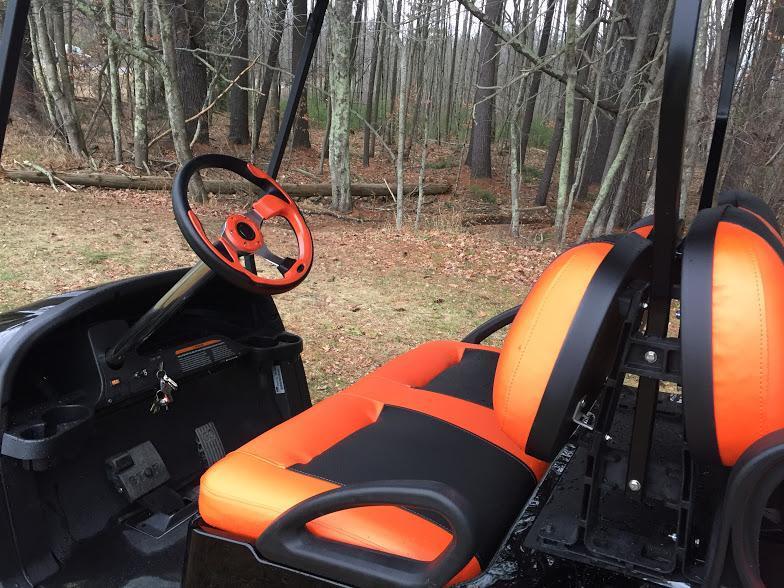 CUSTOM Precedent Metallic Orange Phantom 4 pass w/Lift Kit