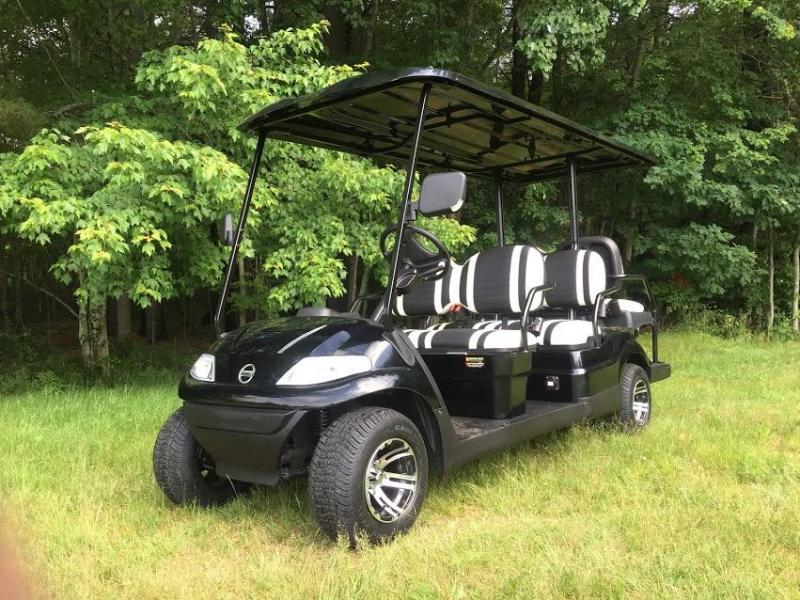 Advanced 48 VOLT ELECTRIC GOLF CAR LIMO-6 PASSENGER 19 MPH