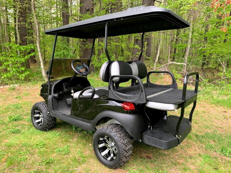 Black/Silver Custom Club Car Precedent Alpha Lifted Super COOL w/warranty