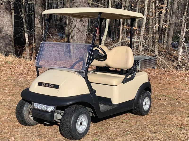 Winter Special! Club Car Precedent 2 Pass Elect Golf Car W/UTILITY BED 2019 Battery