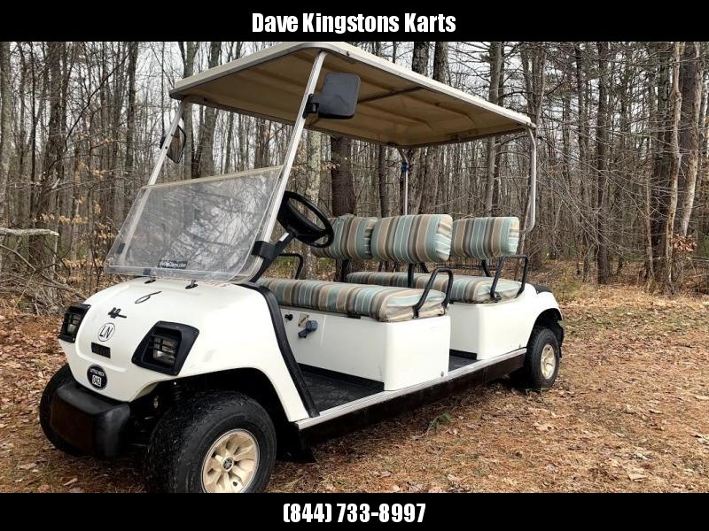 Yamaha G21A GAS 4 pass golf cart LIMO in excellent running condition