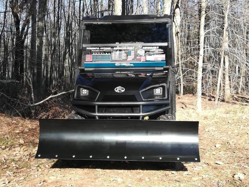 $2000 OFF American LandMaster 550 PLOW-PWR STEER-ENCLOSURE-ENDS 12-31 BLACK
