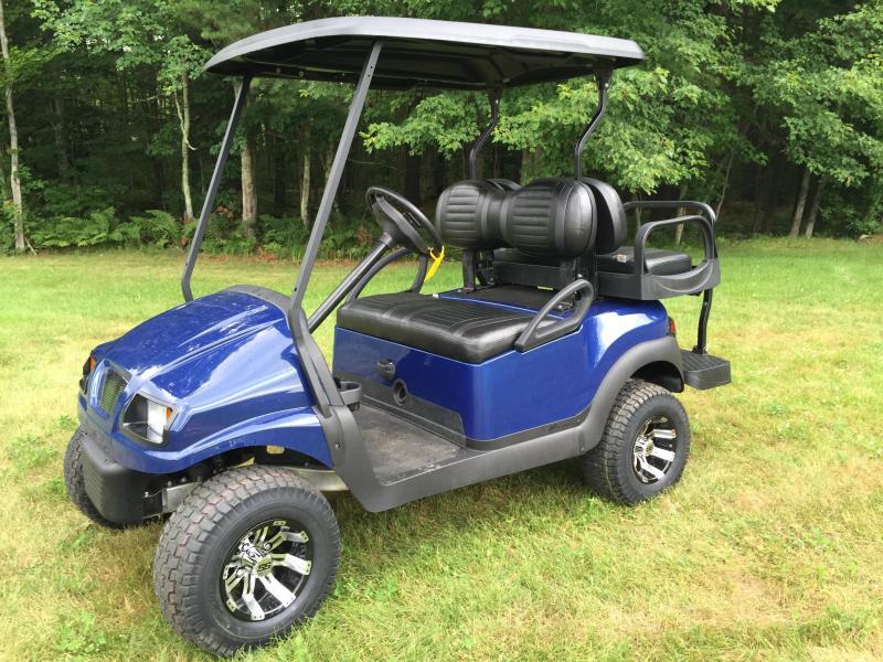 Custom Club Car Precedent Phantom 4 Passenger Golf Cart