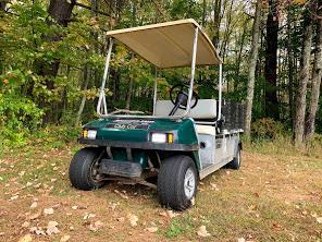 Club Car Carryall/Turf 6 Electric Utility Flatbed  2019 TROJAN BATTERY