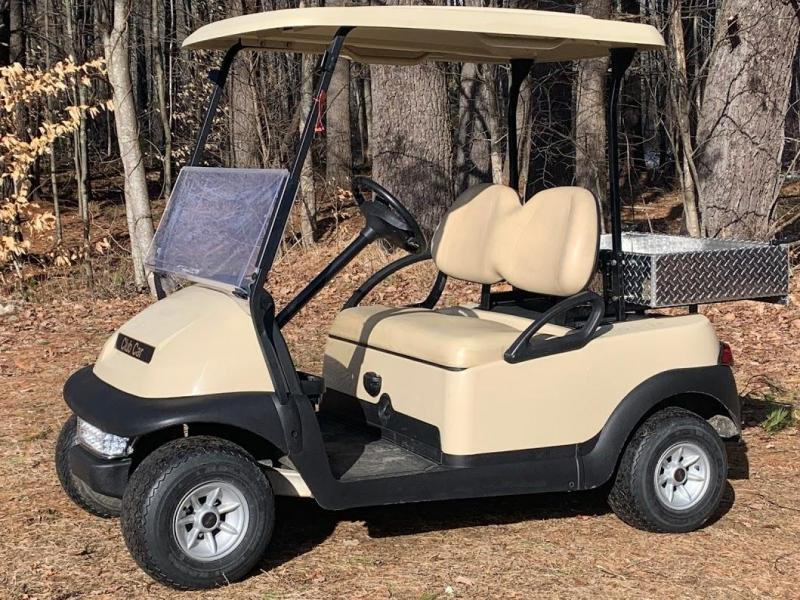 Winter Special! Club Car Precedent 2 Pass Elect Golf Car W/UTILITY BED 2015 Battery