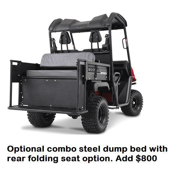$1000 OFF! American LandMaster 350 GAS 2WD UTV SALE ENDS 10-31
