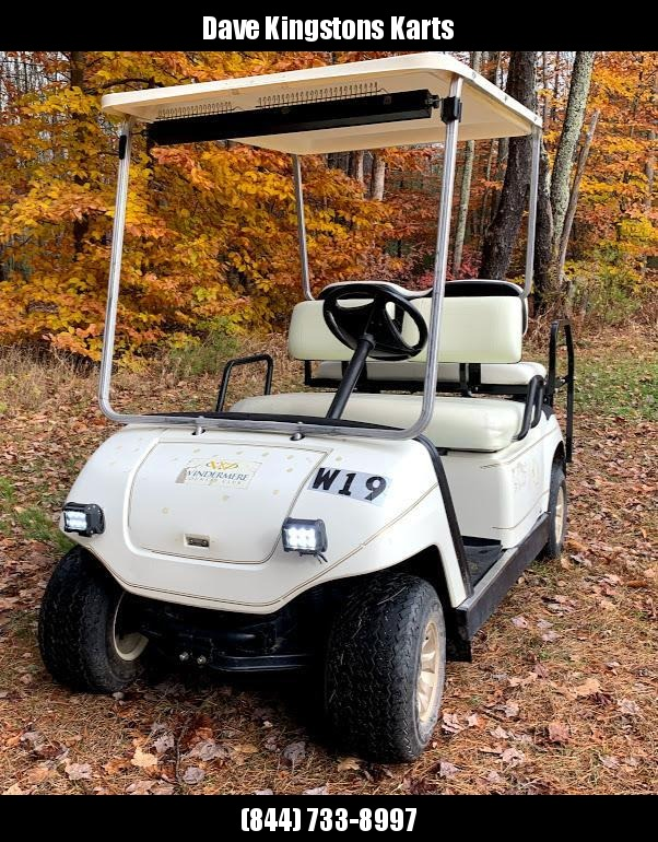 Yamaha Electric Golf Cart 2016 batteries/lights/RUNS GREAT