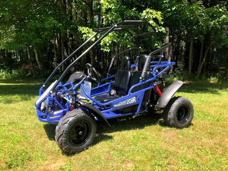 Special! Hammerhead MudHead 208R Youth Go KART BLUE