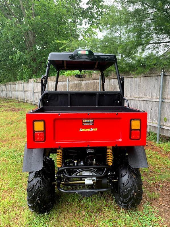 $1000 OFF! 2019 Hammerhead Off-Road R-150 2WD Side by Side GAS UTV RED