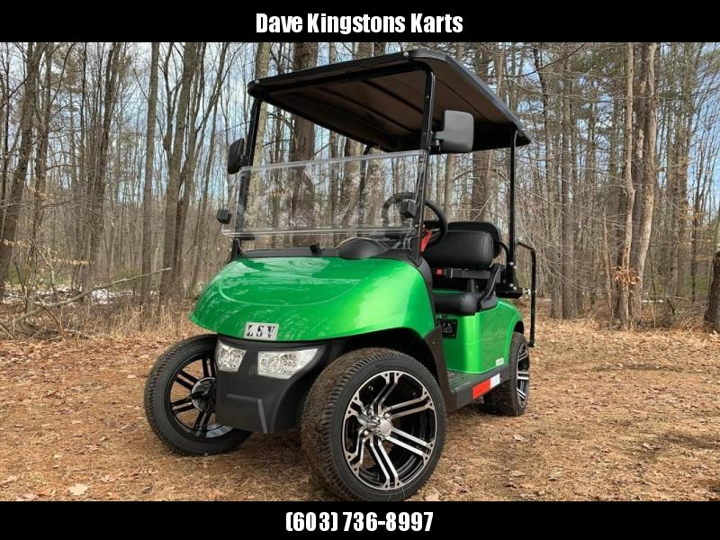 2020 Mid-South LSV 25MPH Street Legal 4 pass golf cart-Monster Green