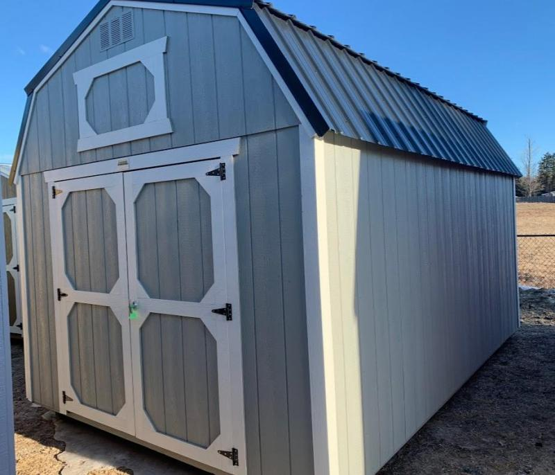 Brand NEW Old Hickory Lofted Barn 10' x 16' Charcoal Roof