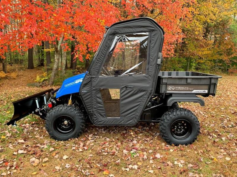 $2000 OFF American LandMaster 550 PLOW-PWR STEER-ENCLOSURE-ENDS OCT 31 BLUE