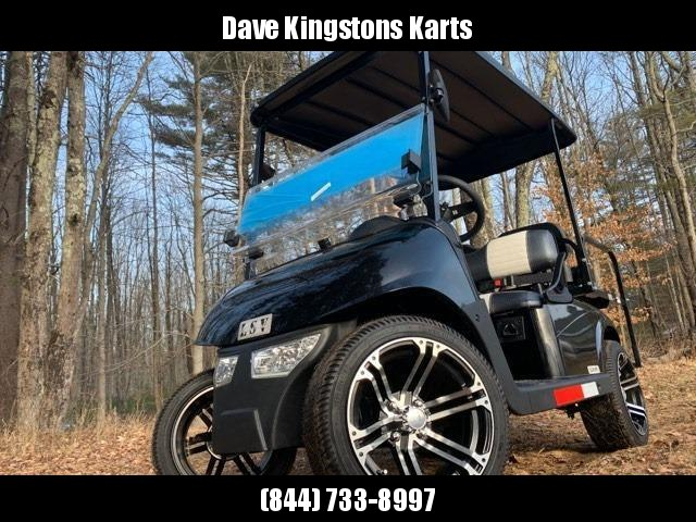 2020 Mid-South LSV 25MPH Street Legal 4 passenger golf cart-Black USA!