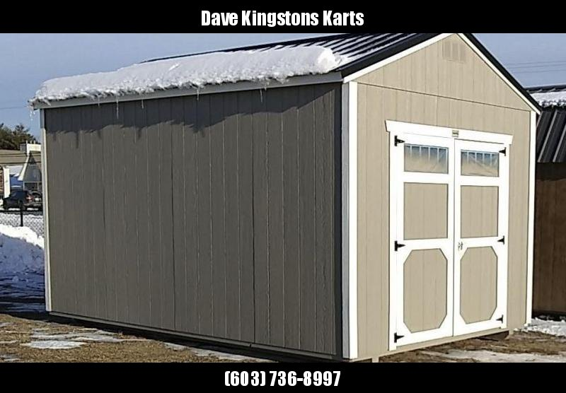 Brand NEW Old Hickory Utility Shed 10' x 16'  Gray w/red steel roof