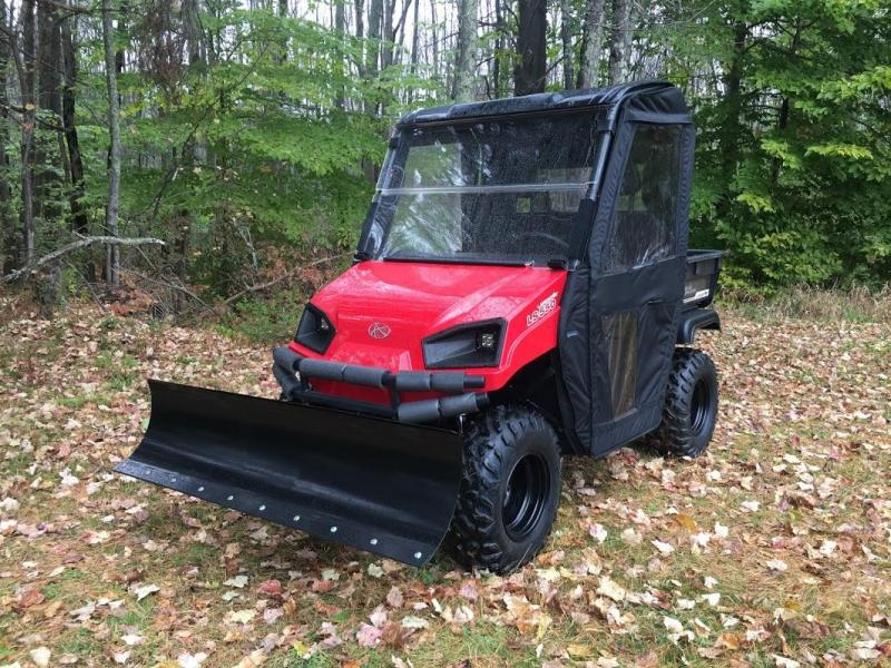 $2000 OFF American LandMaster 677 4WD UTV PLOW-DOORS-PWR STEER-RED